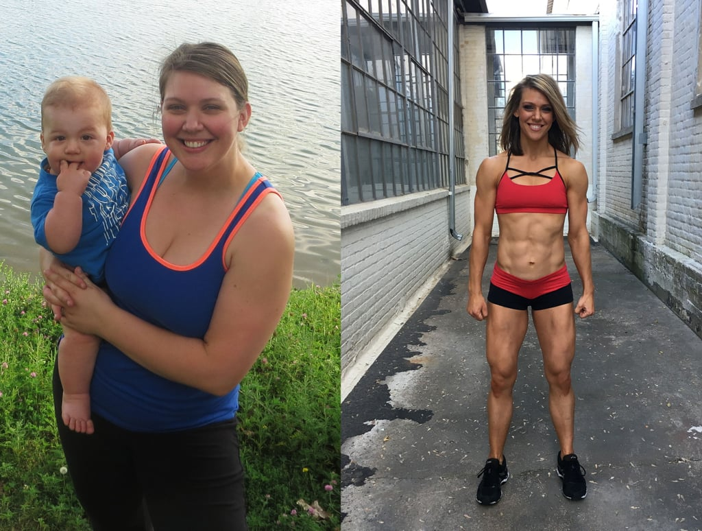 100-Pound Postpartum Weight-Loss Transformation