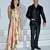 Brad Pitt and Angelina Jolie brought Mr. and Mrs. Smith to ShoWest in March 2005.