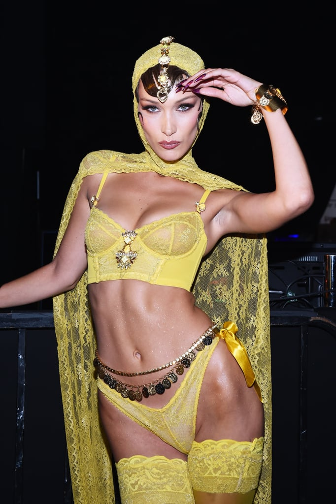 Bella Hadid may make being a Victoria's Secret Angel look easy, but she works damn hard for it — and girl, it's paying off big time. It also helps that Bella has legs that go on for days, so it's no surprise that she makes every event look like a catwalk. Whether she's wearing one of her innumerable bikinis, a gorgeous gown, or lingerie and wings, Bella attracts every eye — and every camera lens. Here are Bella's sexiest pics of all time!