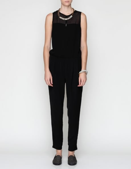 If you're not the party-dress type, then let this Hillary Jumpsuit  ($88) be your alternative. The simple silhouette makes it ideal for amping up with jewels and heels.