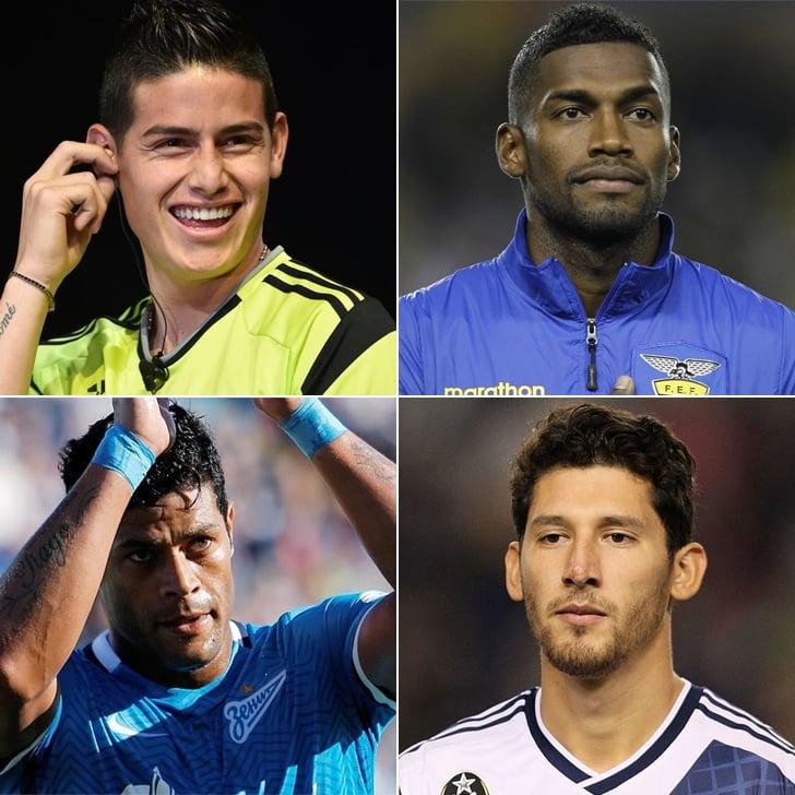 Hot Latino Soccer Players