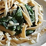 Cook veggies (like leafy greens or broccoli) in with the pasta.