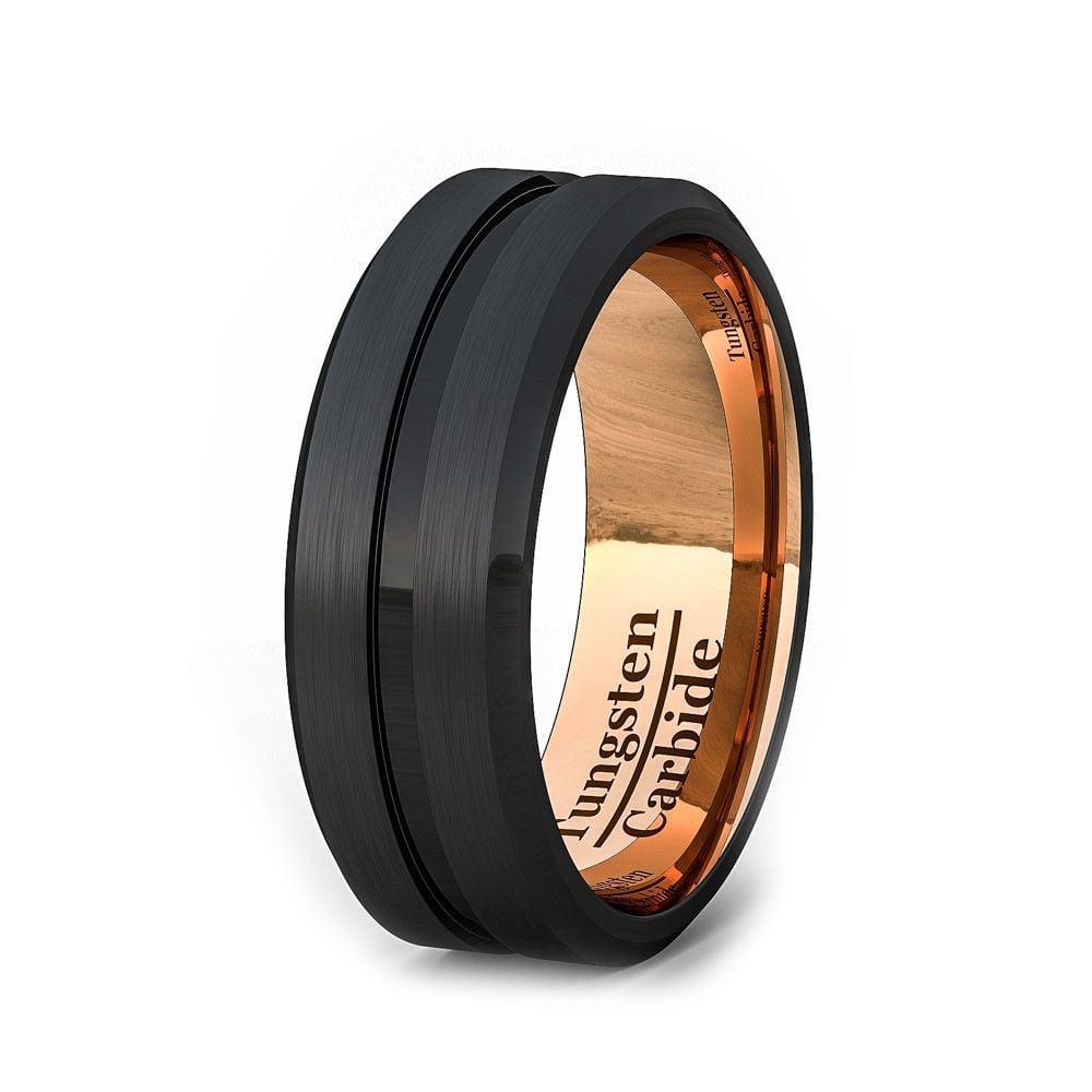 classic tungsten wedding rings