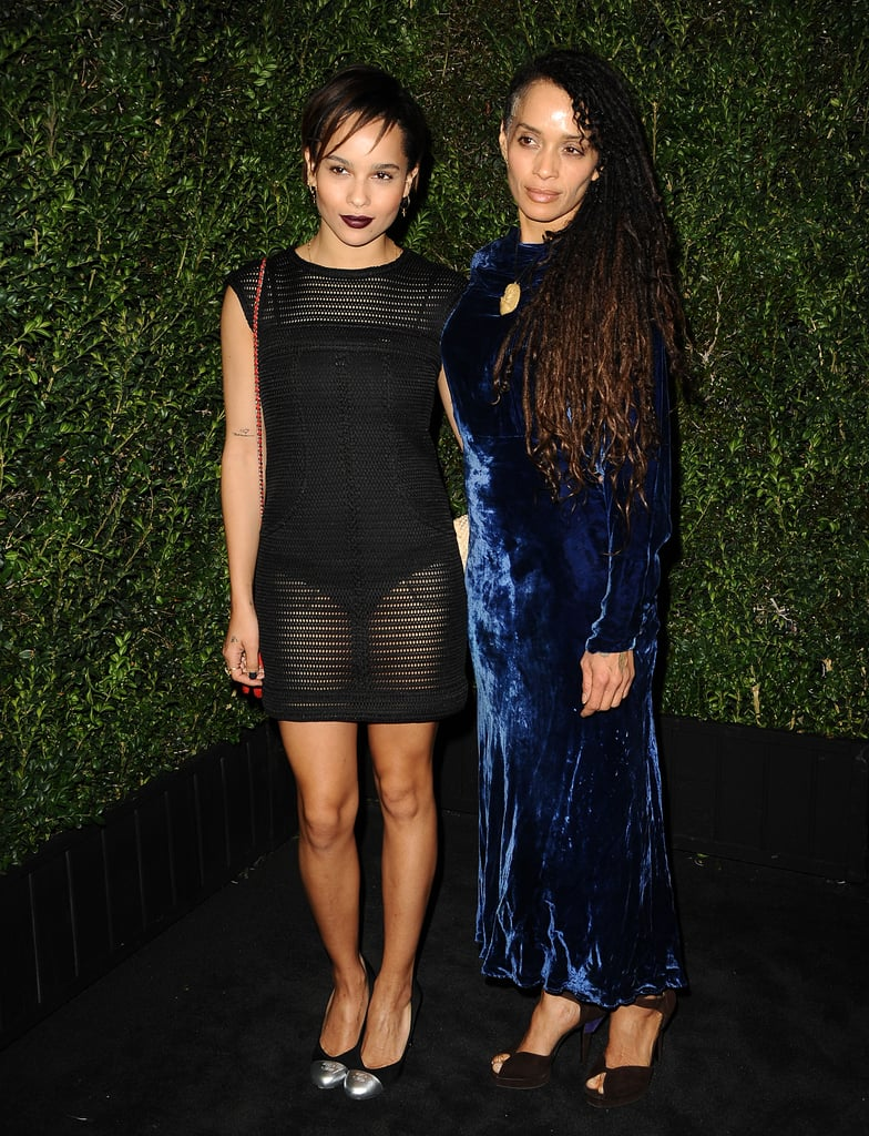 Zoe Kravitz attended the event with her mother, Lisa Bonet.