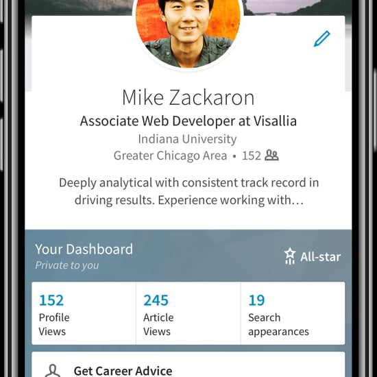 LinkedIn Launches Career Advice Feature