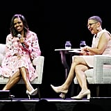 Michelle Obama's Pink Floral Dress
