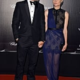 Joshua Jackson and Diane Kruger held hands on the red carpet at the Haiti: Carnival in Cannes event.