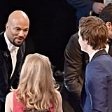 Common Had a Word With Ansel Elgort