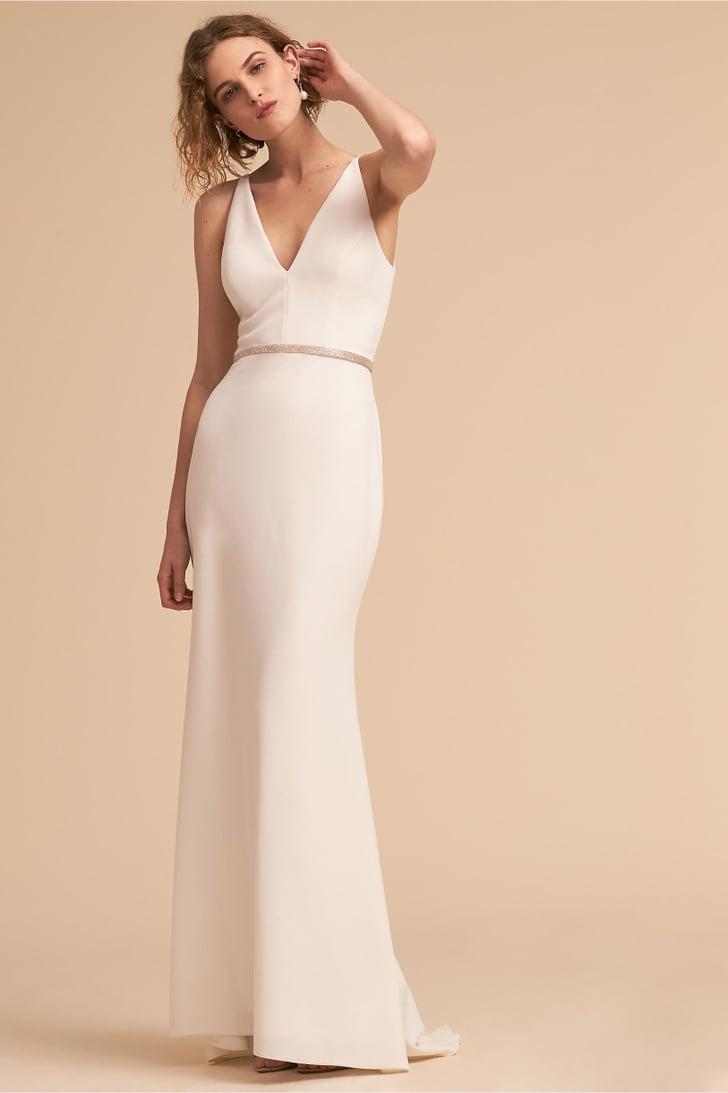 White Bridesmaid Dresses 2018
