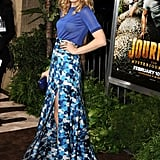 Rachel McAdams struck a pose at the premiere of Journey 2: The Mysterious Island.
