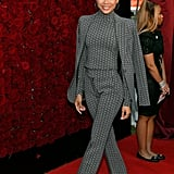 Storm Reid Wearing the Tommy x Zendaya Suit in October 2019