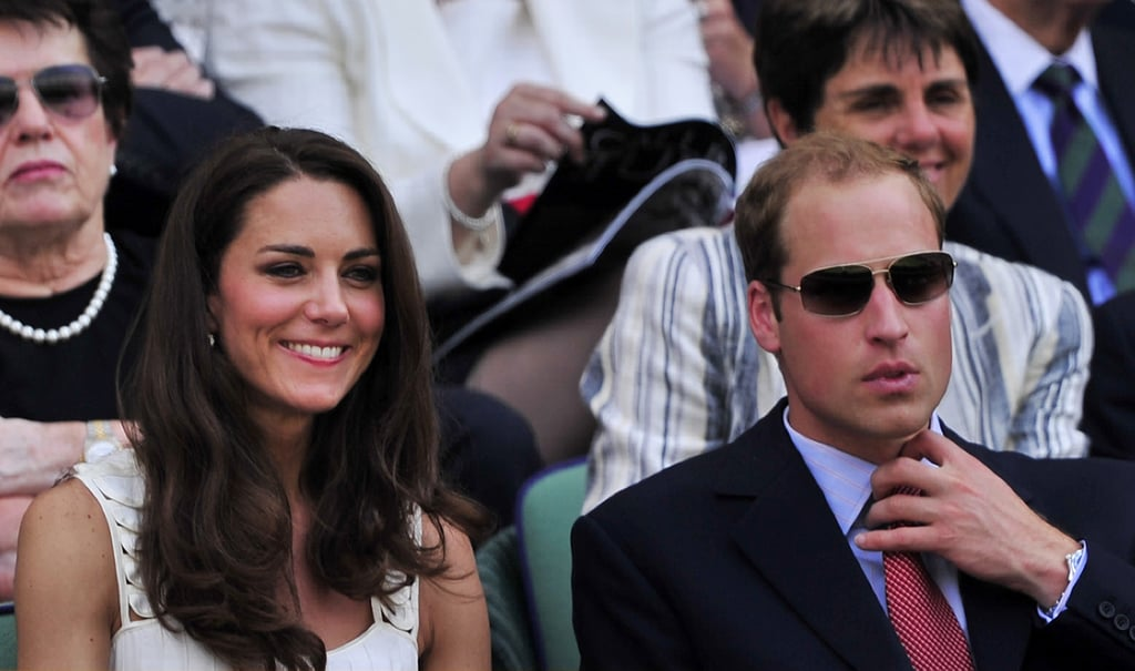 Kate Middleton and Prince William at Wimbledon