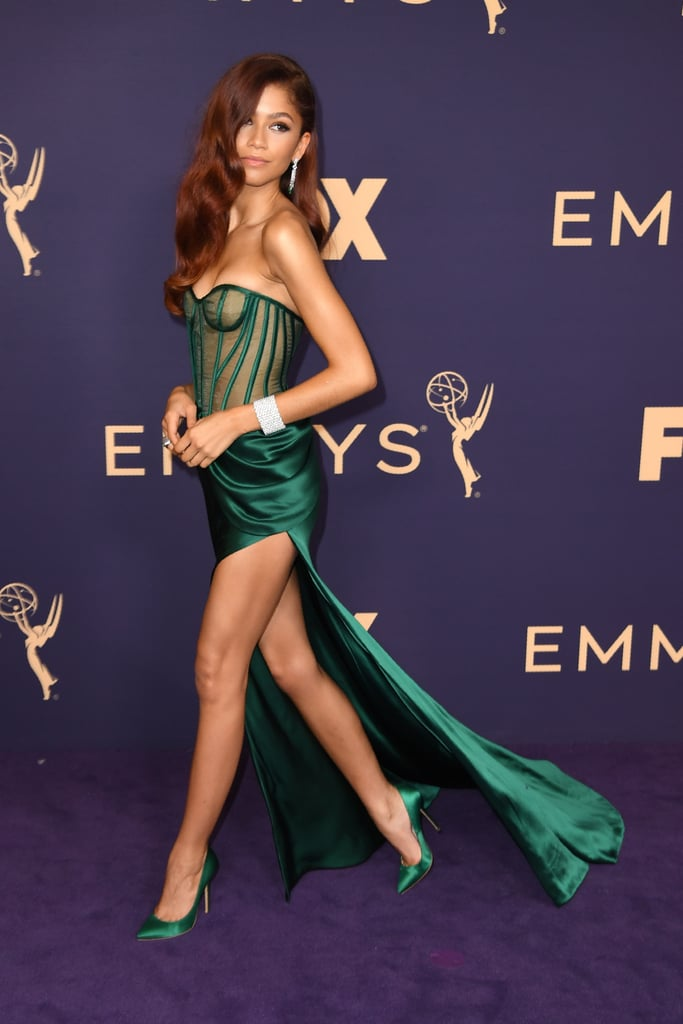 Zendaya at the 2019 Emmy Awards