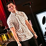 Nick Jonas gave an intimate performance during AMP Radio 97.1's special show at The Grammy Museum.