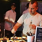 Marc Forgione Preps at The Q