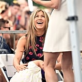 Jennifer Aniston Makes It Her Mission to Embarrass Jason Bateman at His Walk of Fame Ceremony