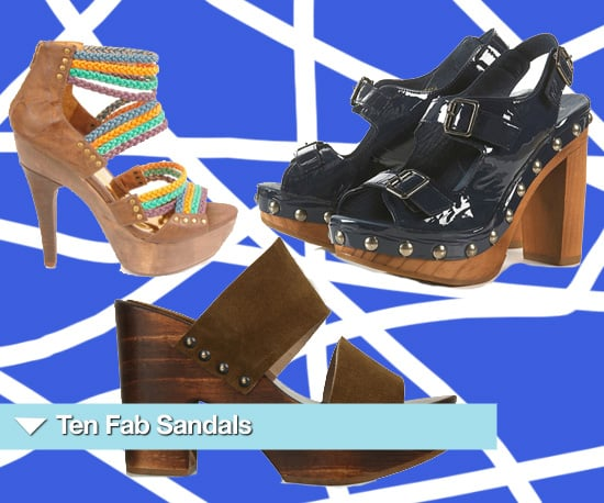 Ten Heeled Sandals to Buy for Summer 2010 from Topshop, Kurt Geiger and Many More