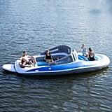Hang Out With Friends on the 20-Foot Inflatable Speedboat