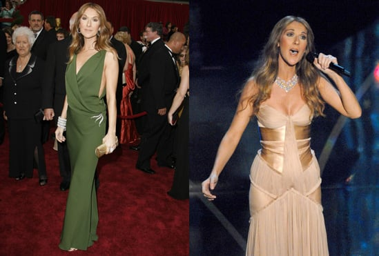 Oscars Poll: Which Celine Dion Gown Was Most Fab?