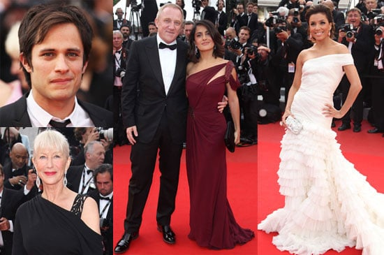 Pictures of Russell Crowe, Kate Beckinsale, Cate Blanchett, Tim Burton, Salma Hayek And Gael Garcia Bernal at Cannes