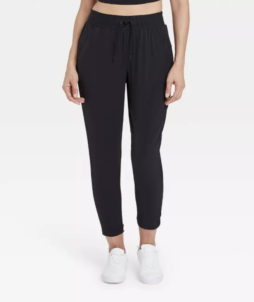 Stretch Woven Lined Pants