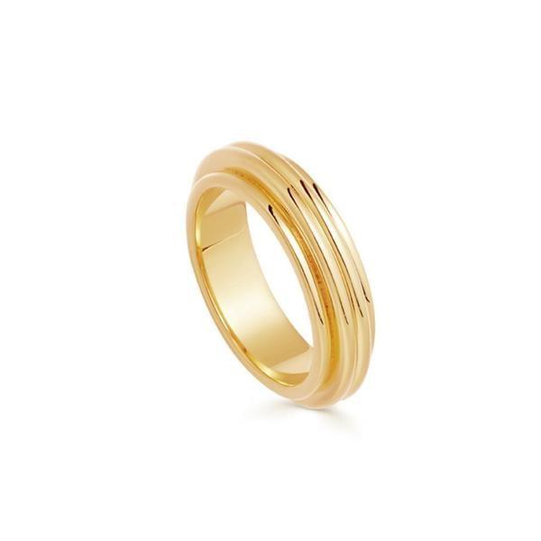 Missoma x Lucy Williams Gold Ridge Ring