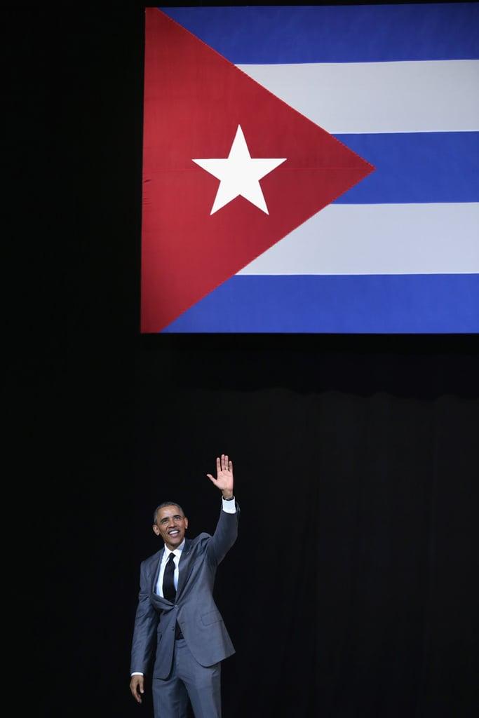 President Obama's Speech at the Gran Teatro