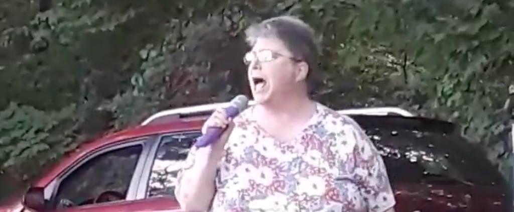 "Woman Singing Missy Elliott ""Work It"" Video"