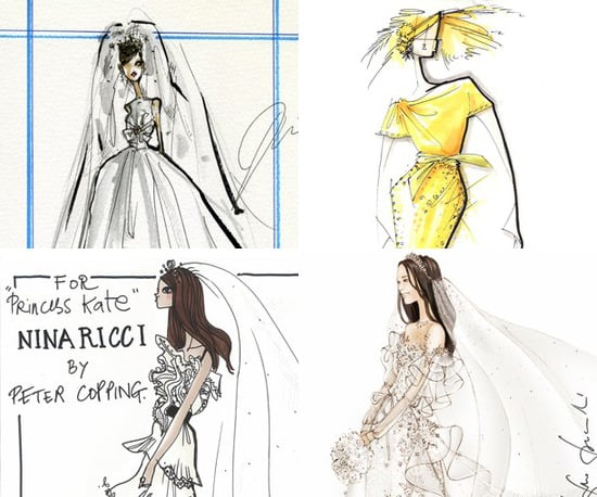 Wedding Dress Ideas for Kate Middleton From Karl Lagerfeld, Vera Wand and Valentino