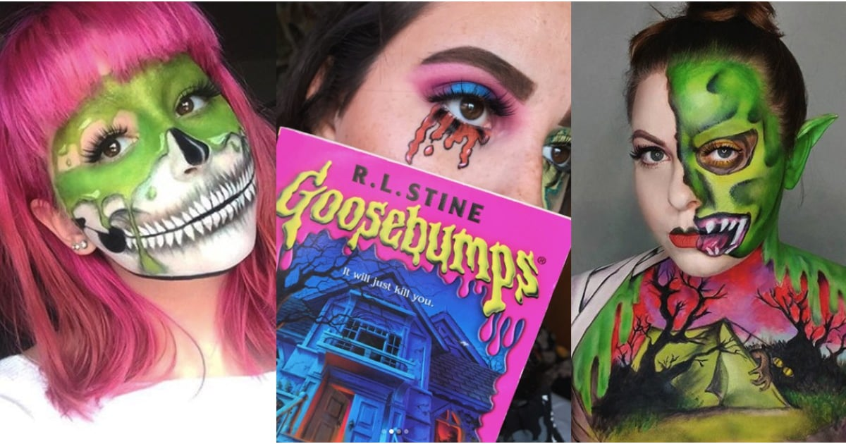 Reader Beware...These Goosebumps-Inspired Halloween Makeup Looks Will Spook You
