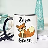 Etsy Fox Mug Funny