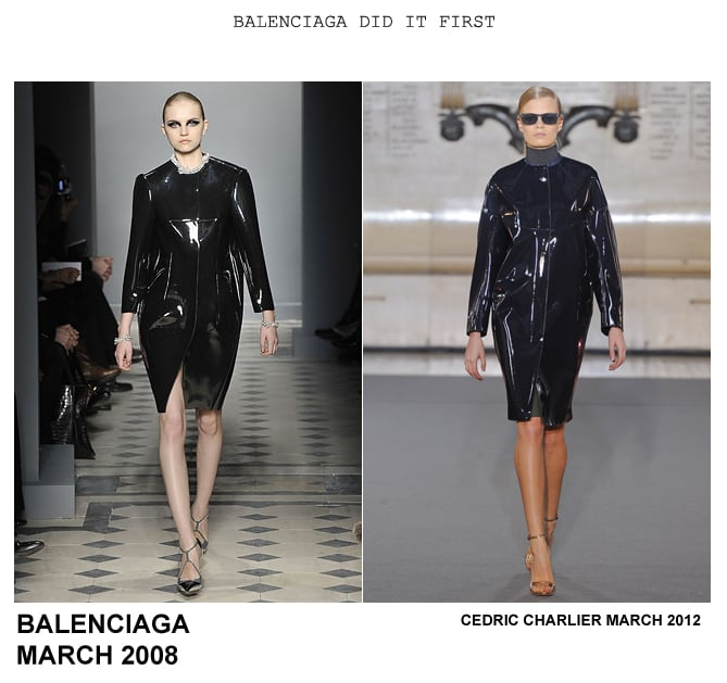 Balenciaga Did It First