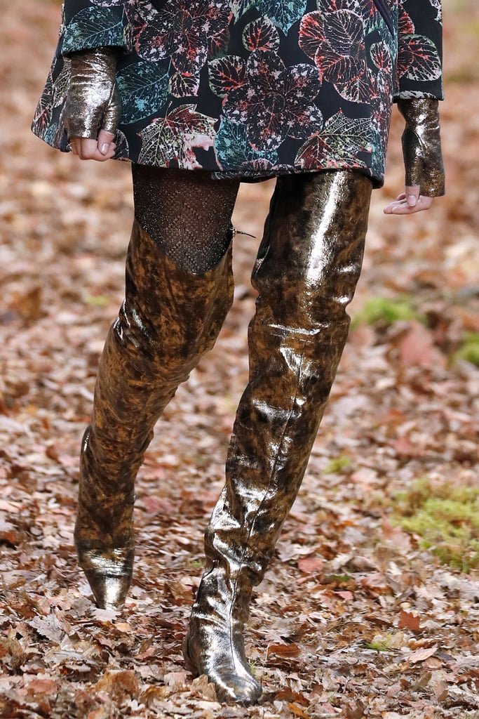 And We Expect Big Things For These Chanel Foliage Boots