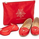 Charlotte Olympia Cat Nap Slipper Set ($595)