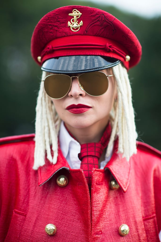 Blond dreadlocks and red lipstick. Need we say more? Source: Le 21ème | Adam Katz Sinding