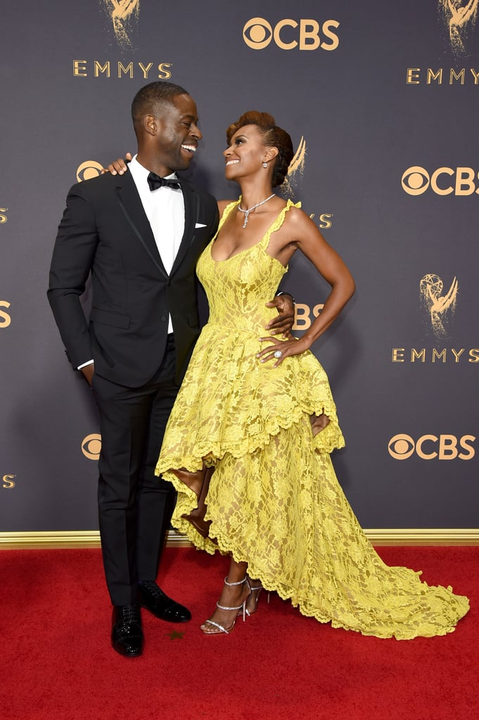 Our obsession with Sterling K. Brown has reached an all-time high with his performance on This Is Us, but we've also fallen in love with his sweet, sweet family. The actor has been married to his college sweetheart, Ryan Michelle Bathe, for ten years, and they've given us multiple glimpses of their cute relationship at movie premieres like Black Panther, during award season, and on social media.  After meeting and falling in love at Stanford University, the two tied the knot in June 2007 and are now parents to two adorable sons — they've even shared the screen on Army Wives and This Is Us. Sterling may be dreamy in his own right, but it's his relationship with Ryan that gives us heart eyes.       Related:                                                                                                           The Love in Sterling K. Brown's Family Photos Will Wrap Around You Like a Warm Blanket