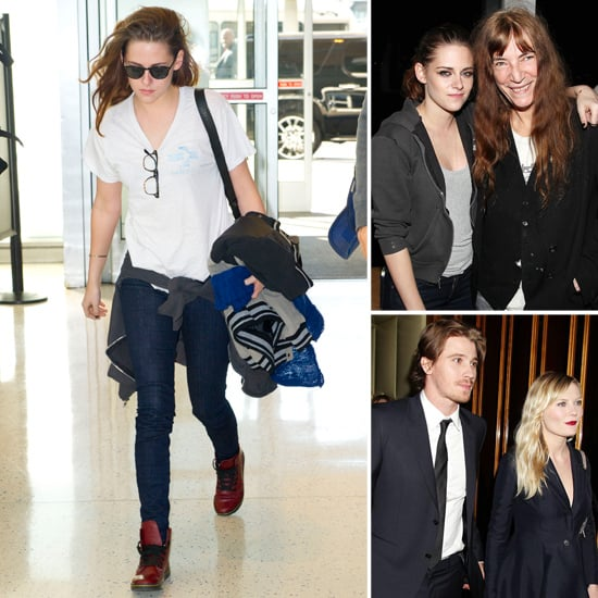 Kristen Stewart Wears a T-Shirt to the Airport | Pictures
