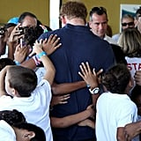 Prince Harry gets some love in Brazil.
