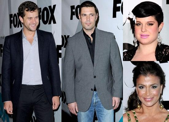 Photos of Joshua Jackson, Carlos Bernard, Kelly Osbourne and Paula Abdul at Fox TV Winter All Star Party