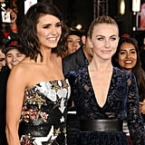Nina Dobrev and Julianne Hough on Red Carpet in LA Jan. 2017