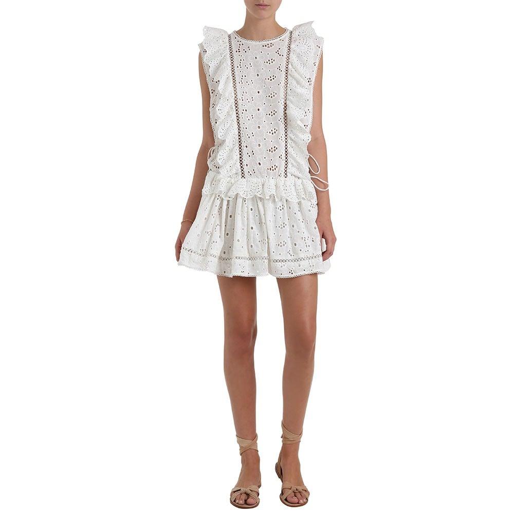 Zimmermann Hyper Eyelet Flip Dress ($480)