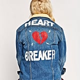 Daydreamer Heartbreaker Oversized Denim Jacket