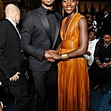 And yes, she even held hands with Michael B. Jordan.
