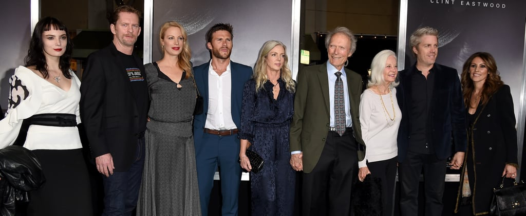 Clint Eastwood and His Family at The Mule LA Premiere