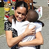 When She Hugged This Little Boy in Cape Town, South Africa