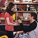 Ted re-proposes to Tracy five years after he originally asked her to marry him.
