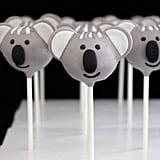 Koala-Themed Gourmet Cake Pops