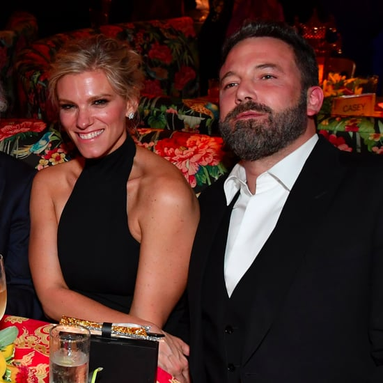Ben Affleck and Lindsay Shookus at the 2017 Emmys