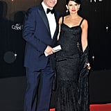Alec Baldwin was accompanied by Hilaria Thomas at the Cannes Film Festival opening night dinner.
