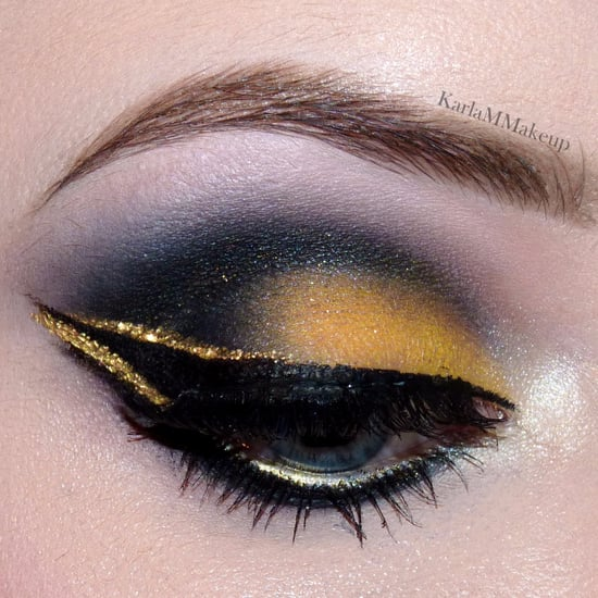 Hufflepuff-Inspired Makeup